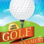 Announce your golf tournament or event with custom apparel
